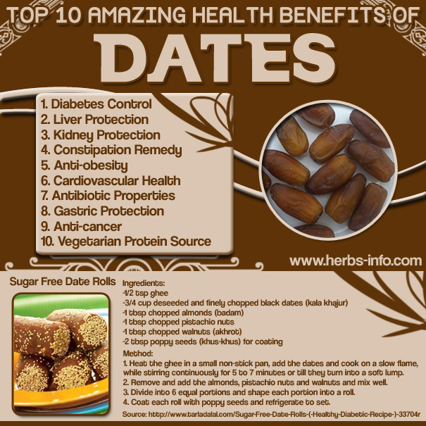 health benefits dates